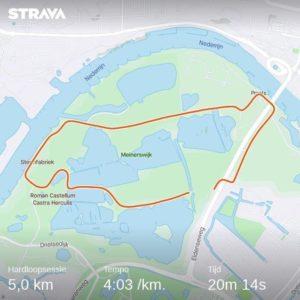 CoronaSoloRun 5 kilometer